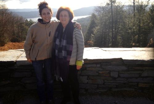 me & mom in berkshires dec. 2012